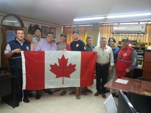 Flag Presentation in Santa Marta
