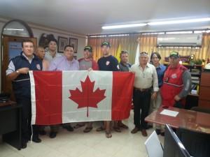 Flag Presentation in Santa Marta