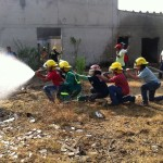 Colombia - Hose drill